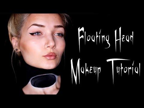 Hovering Head Halloween Makeup Tutorial || Last Minute