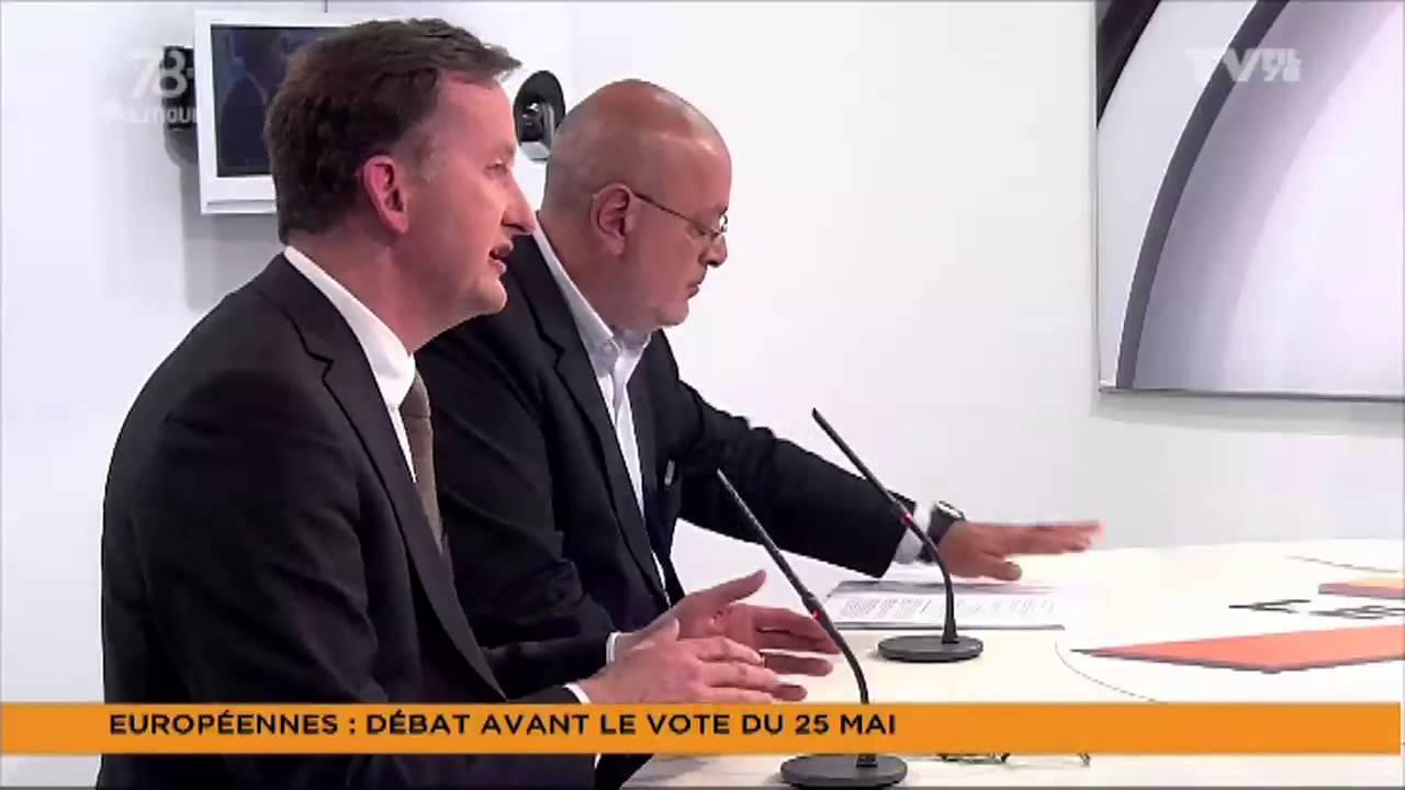 """Le 7/8 Politique – Edition spéciale """"Débat des Européennes 2014"""""""
