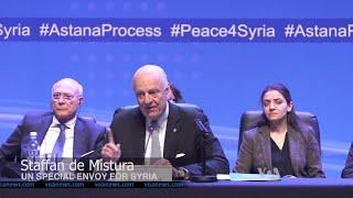 أخبار عربية | تأجيل جولة محادثات #أستانة 6 بشأن #الازمة_السورية