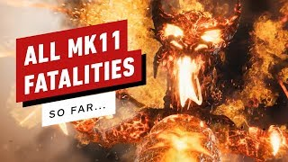 Mortal Kombat 11: All Fatalities and Fatal Blows (Update)