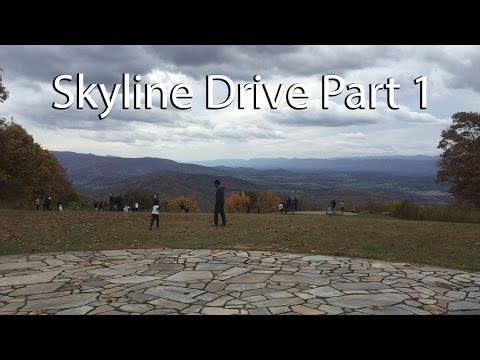 Skyline Drive Motorcycle Trip Day 2 Part 1 of 2