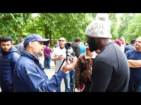 P2 - Use Your Intellect! Hashim vs Christain l Speakers Corner l Hyde Park
