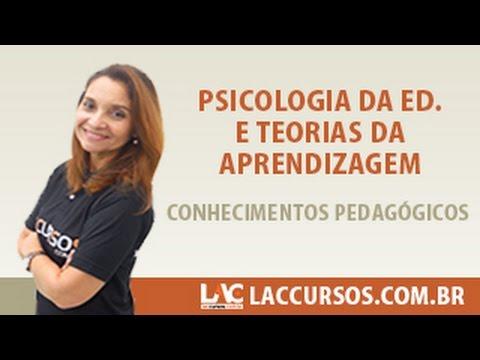 Aula 11 - Psicologia da Ed. e Teorias da Aprendizagem - Conhecimentos Pedagógicos