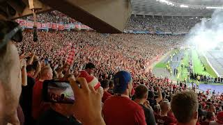 Download Lagu Liverpool fans singing One Kiss - Dua Lipa // Champions League final 2018 Mp3