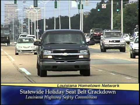 Louisiana Memorial Day Holiday Weekend Highway Crackdown