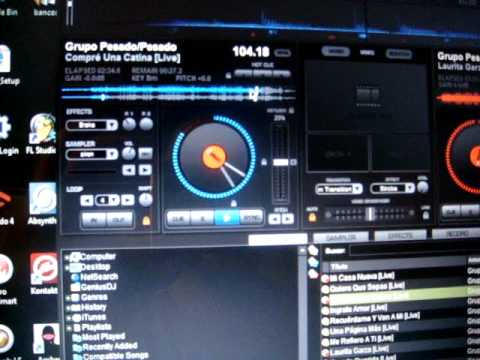 how to set auto dj on virtual dj
