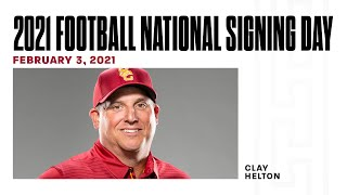 USC Football - 2021 Signing Day Press Conference: Clay Helton