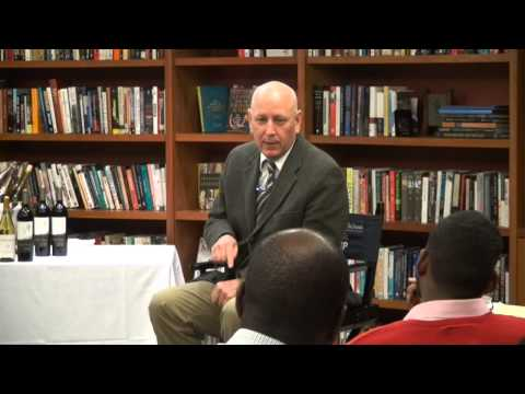 Dean Williams talks about his new book, Leadership for a Fractured World