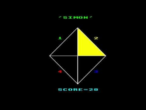Simon (Computer & Video Games) For The BBC Micro