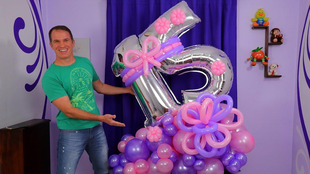 BOUQUET DE GLOBOS - ARREGLOS PARA CUMPLEAÑOS - arreglos con globos - balloon bouquet - gustavo gg