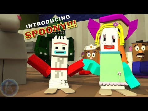 Toy Story 4 Introducing Spoony Minecraft Animation