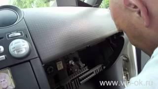 Меняем фильтр салона Mitsubishi Colt VI /часть 2