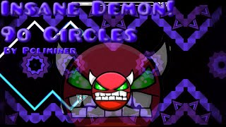 geometry dash is sonic wave back 9o circles by pcljminer