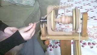 How My Ashford Kiwi Spinning Wheel Works