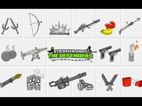 Stickman Army : The Defenders /Android Gameplay HD Part 1 (NEW)