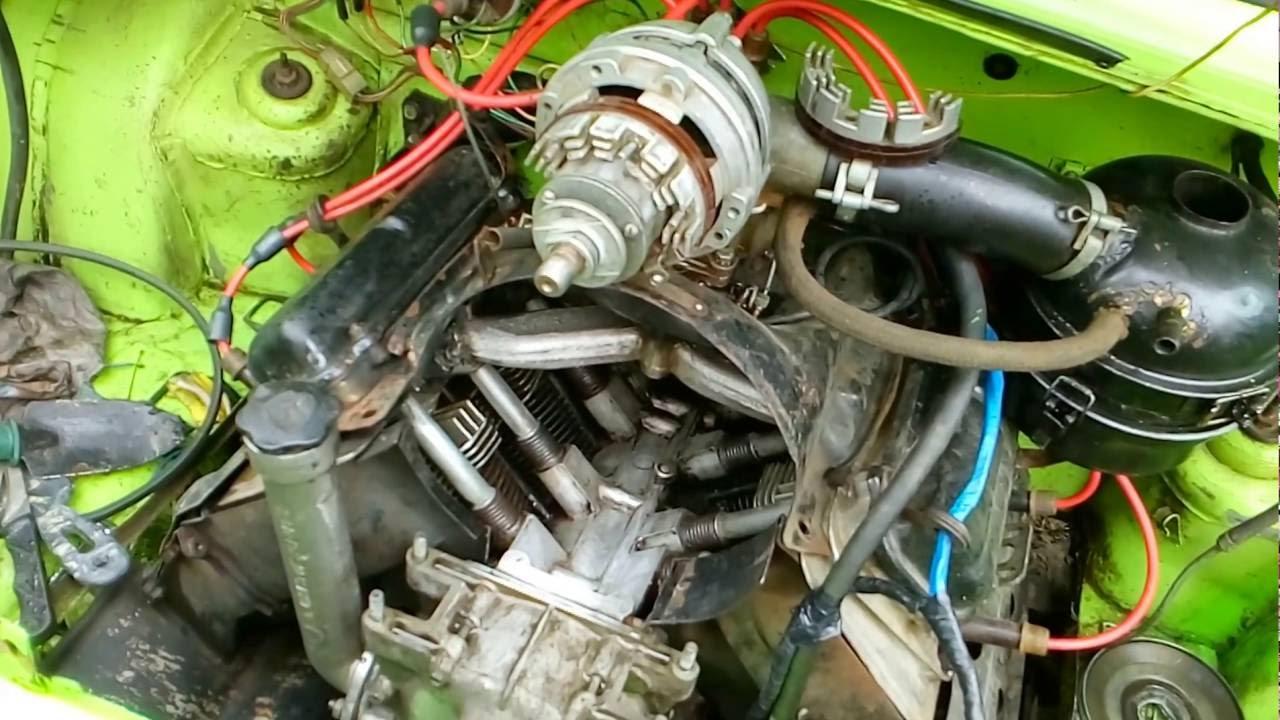 Чистка Двигателя Блока Цилиндров.Заз 968М,Запорожец.