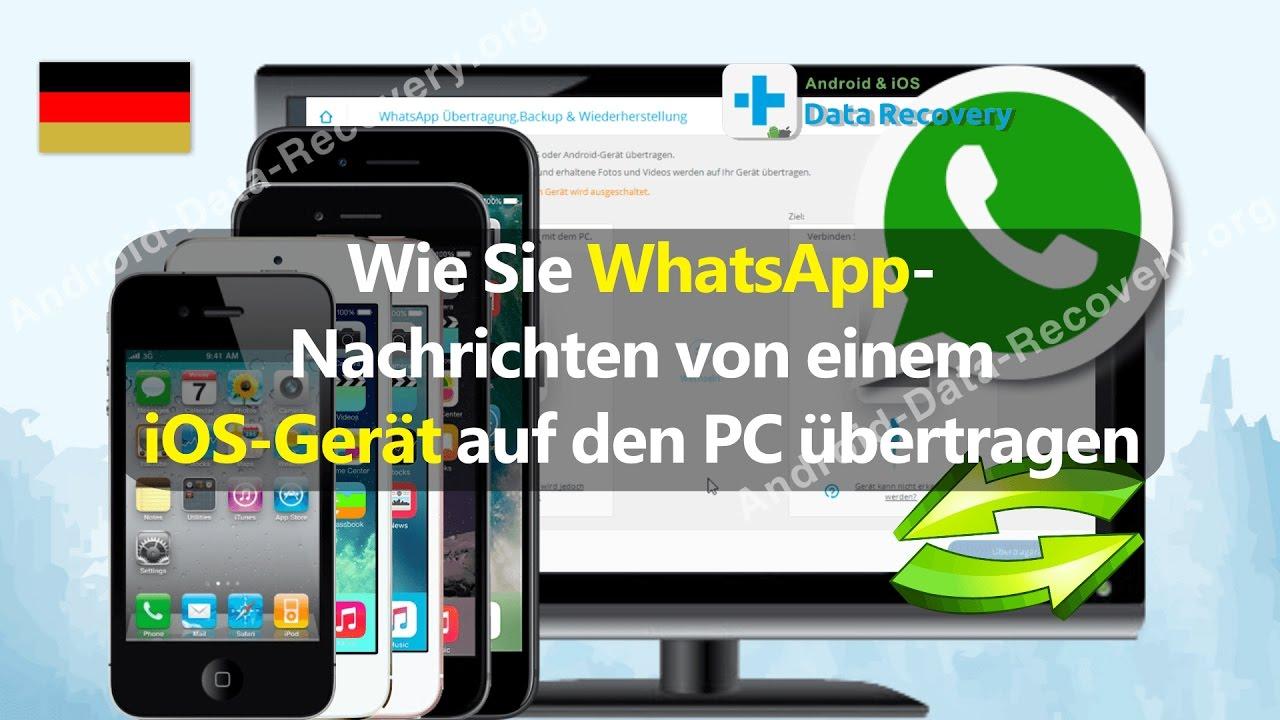 Whatsapp Auf Ios übertragen