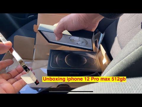 Đập hộp iphone 12 Pro Max 512 Gb - Để quay YouTube - Đẹp quá