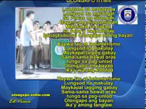 Olongapo City - Himno ng Olongapo (Olongapo Hymn)