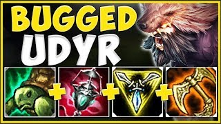 WTF! ARDENT CENSER ON UDYR MAKES HIM 100% UNBEATABLE?? UDYR SEASON 10 GAMEPLAY! - League of Legends