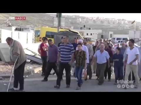 Ramazan ayının ilk cuma namazı için Filistinlilerin Kudüs'e geçişi başladı