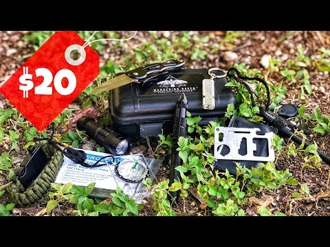 Testing The Cheapest Survival Kit on AMAZON | Tactical