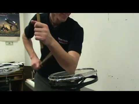 Matthew Bauer Free Improvisation on a Single Roto Tom