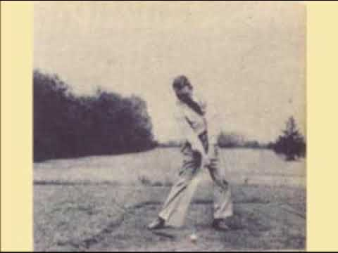 Ben Hogan's golf swing circa 1930's