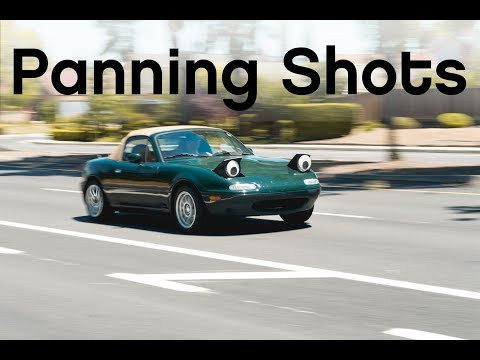 Shooting Cars: Ep. 21 Panning Shots for Car Motion
