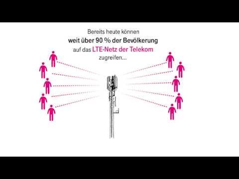 Social Media Post: #AufneMinute: Die Vorteile von LTE