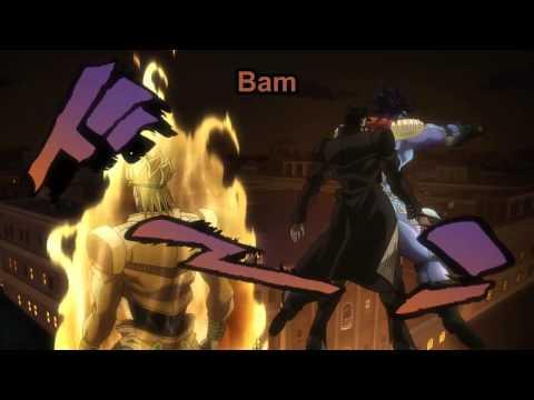 JJBA Stardust Crusaders - Jotaro in Dio's World of Frozen Time