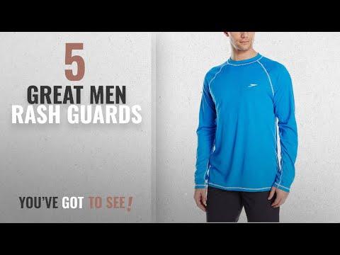 a20ab4c9c4 Top 10 Mens Rash Guards [ Winter 2018 ]: Speedo Men's Easy Long Sleeve Swim  Tee Shirt,Bright - YouTube