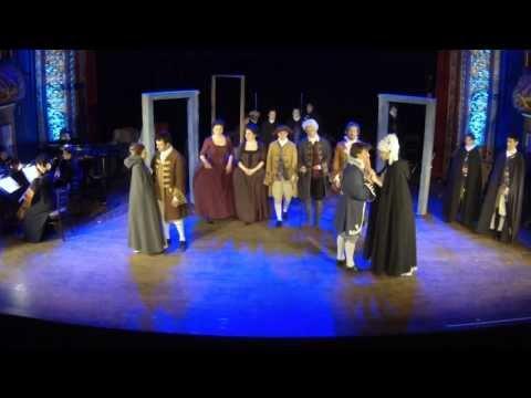 Le Nozze di Figaro - Finale (Pian pianino... gente gente all'armi all'armi)