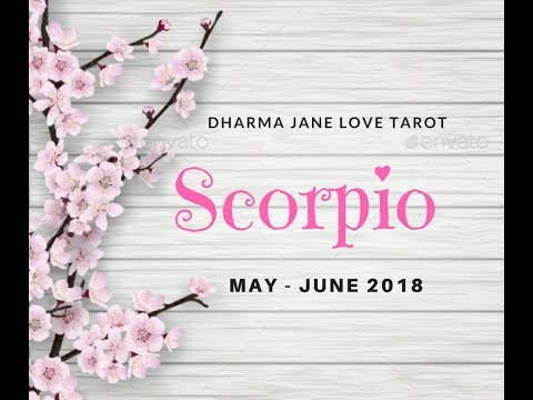 Scorpio  ~ Learning How to Love Each Other ~ Love Tarot May June 2018