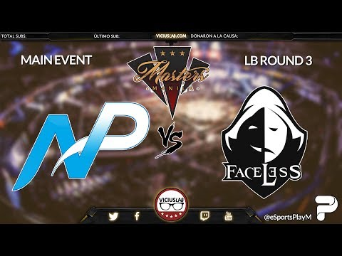 TEAM NP vs FACELESS TEAM - 2 - THE MANILA MASTERS - Viciuslab