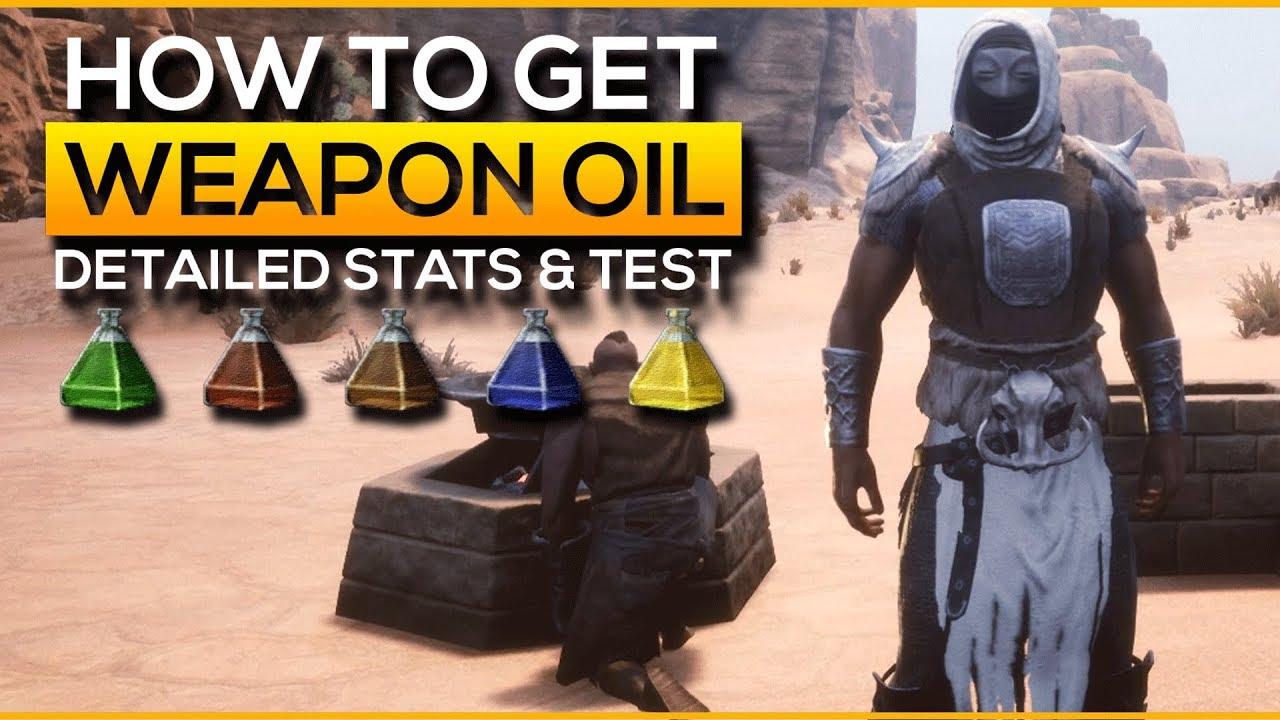 Conan exiles oil farm