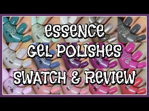 Essence Gel Polishes | Swatch & Review