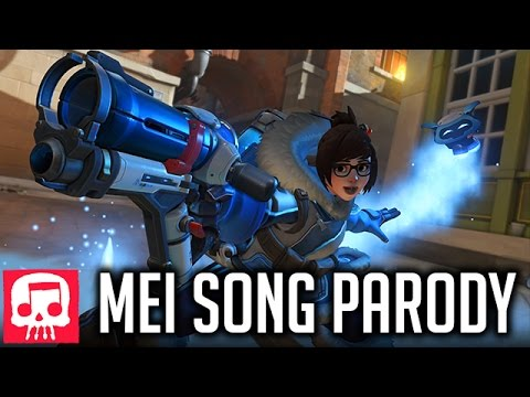 """MEI SONG - """"It's Gonna Be Mei"""" by JT Music (Overwatch Song Parody of *NSYNC)"""