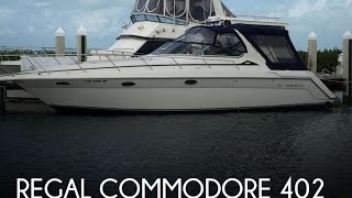 [UNAVAILABLE] Used 1998 Regal Commodore 402 in Islamorada, Florida