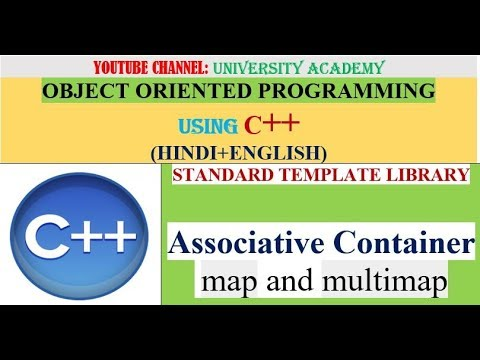 OOP | STL |Associative Container | map and multimap