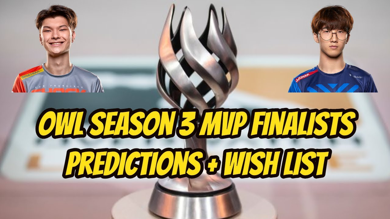 Overwatch League Season 3 MVP Finalists Predictions + Wishes