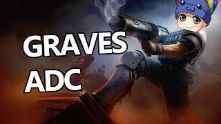 League of Legends - Graves ADC - Full Game Commentary