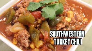 Simple Southwestern Turkey Chili