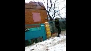 Уличные бои в Дебальцево. Ополченцы зачищают дебальцевский котел. Уникальное видео. 17 02 2015