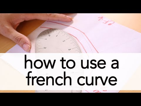 How to Use a French Curve | Vintage on Tap