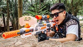 LTT Game Nerf War : Warriors SEAL X Nerf Guns Fight Braum Crazy Campaign To Take Down The Boss