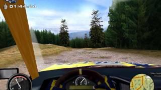 Rally Championship 2000 / Mobil 1 British Rally Championship (1999) (Gameplay)