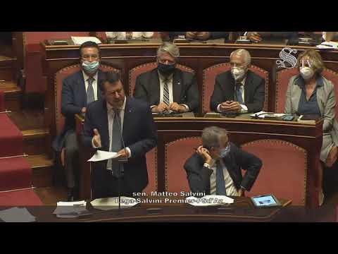 Salvini: 'Mi mandano a processo come sequestratore di persona' (30.07.20)