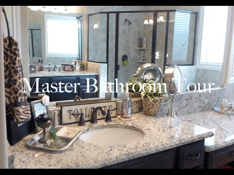 New Master Bathroom Tour