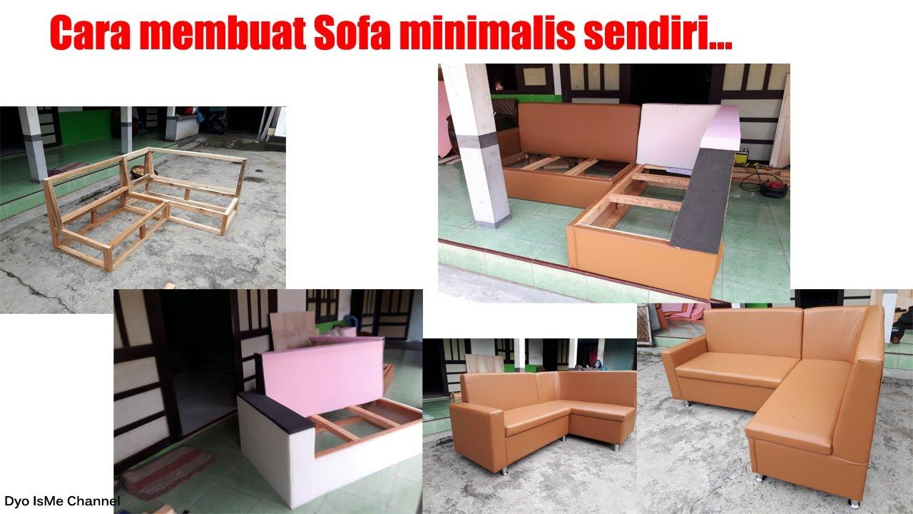 Cara Membuat Sofa Minimalis Sendiri DIY Sofa Minimalis YouTube